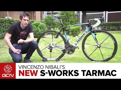 Vincenzo Nibali's NEW Custom Specialized S-Works Tarmac | Giro D'Italia 2016