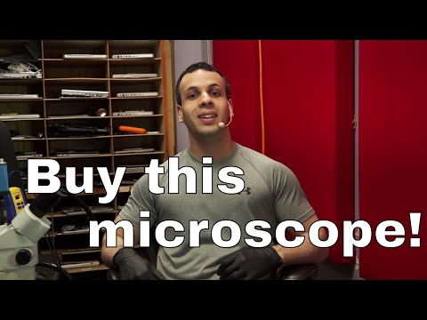 The microscope recommendation video: buy Amscope!