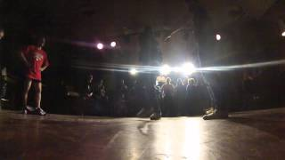 "Big mama vs Pora Domoi (1|4 Freesyle Routines ""BREAK THA NIGHT"" spb 2014)"