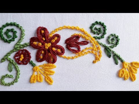 Hand embroidery cushions design | hand work cushion cover designs tutorial thumbnail