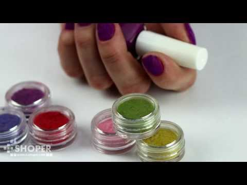 Бархатные (кашемировые) ногти - инструкция