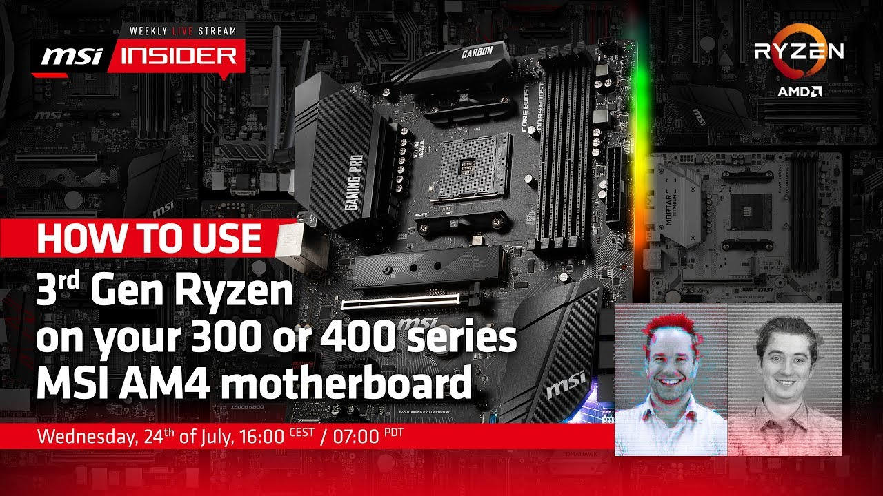 MSI b450 and X470 budget boards thread  - Overclock net - An