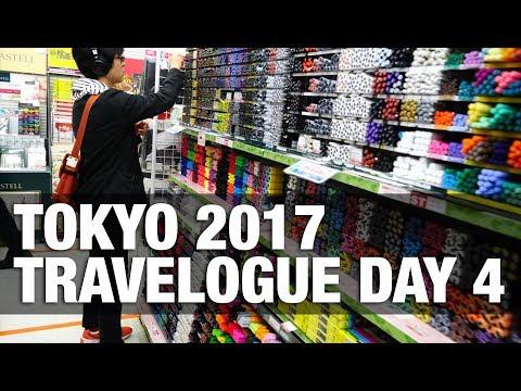 Visiting 6 floors of Art Supplies at Sekaido Shinjuku | Tokyo Day 4