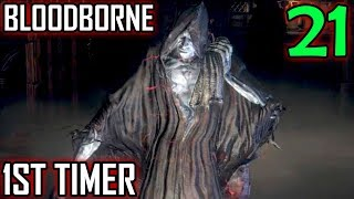 Bloodborne 1st Timer Walkthrough - Part 21 - Hypogean Gaol Return