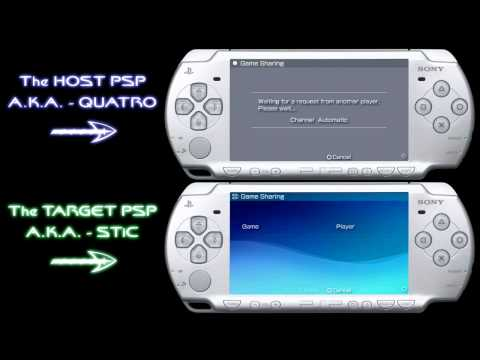 PSP GAME SHARING (tutorial)