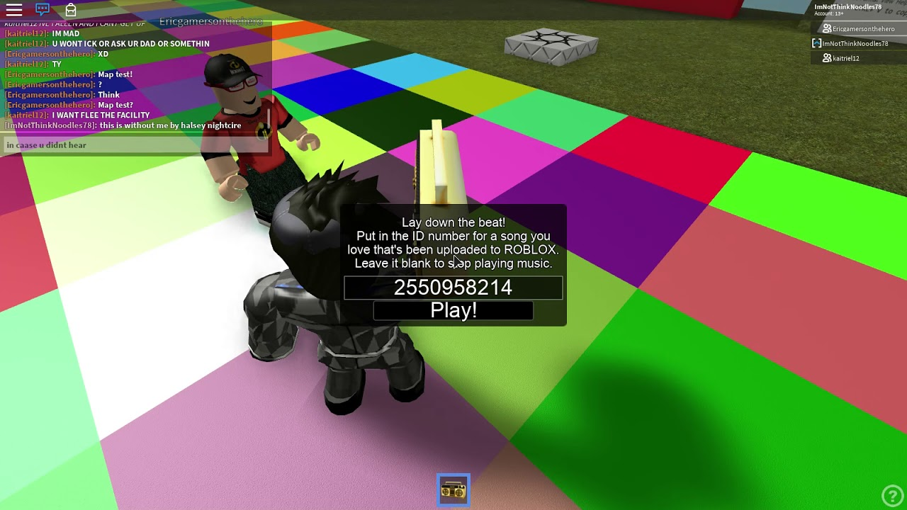 Roblox Music Id For Without Me By Halsey Nightcore Youtube