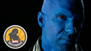 Cosplayer Sidney Cumbie becomes Yondu - Marvel Becoming