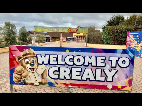 Crealy Great Adventure Park Vlog 31st March 2018
