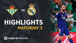 Resumen de Real Betis vs Real Madrid (0-1)