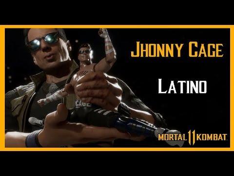 MK 11 JOHNNY CAGE -Voz LATINO-