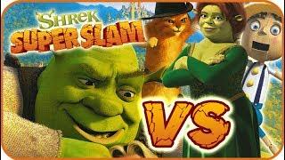 Shrek Super Slam Game Part 8 (Gamecube, PC, PS2, XBOX) Puss VS Fiona Ogre & Shrek & Pinocchio