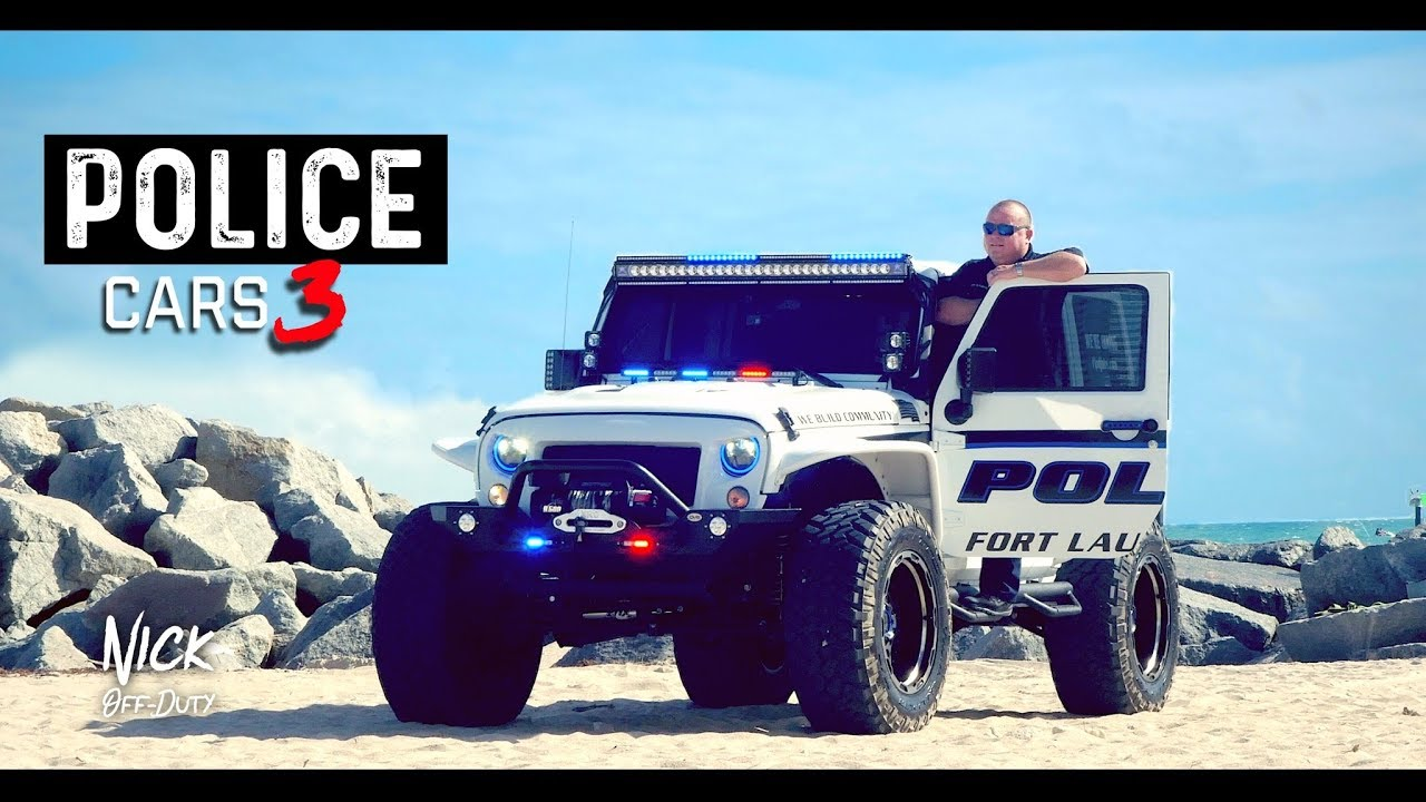 POLICE CARS (Jeep Wrangler 4x4 Fort Lauderdale Police Department)