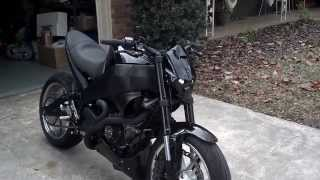Turbo Buell XB Walk Around