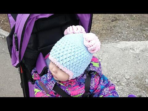 Шапка зимняя детская крючком