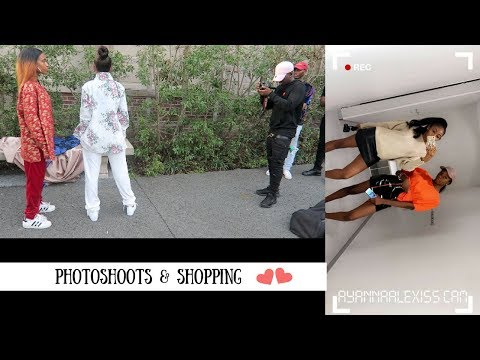 THE TRUE LIFE OF AYANNA ALEXIS: BEHIND THE SCENES PHOTOSHOOT, SHOPPING IS THE BEST THERAPY!