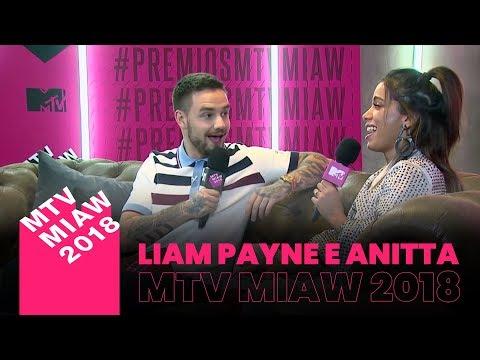 Liam Payne entrevista Anitta  MTV MIAW 2018 LEGENDADO PT-BR