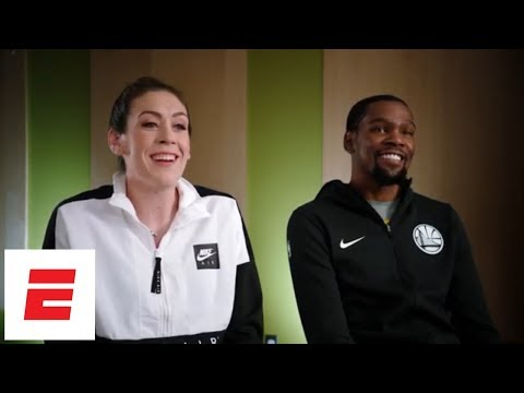 Kevin Durant and Breanna Stewart on Seattle embracing Sonics' NBA return, inspiring each other