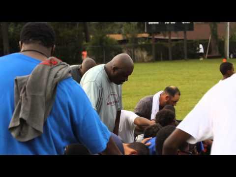 Tallahassee Lions vs. FWB Junior Vikings (12 Years Old) Post-Game Prayer