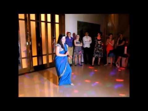 Georgian Girl Dancing on Bollywood songs mix