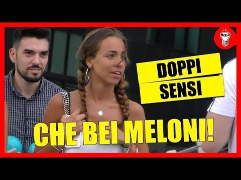 Che bei Meloni! - DOPPI SENSI SULLA GENTE - [Candid Camera] - theShow