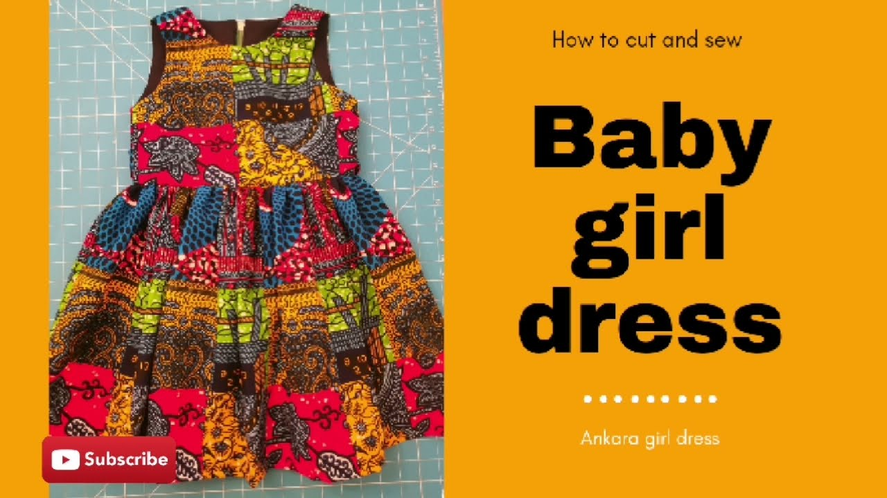 Download HOW TO MAKE AN ANKARA BABY DRESS