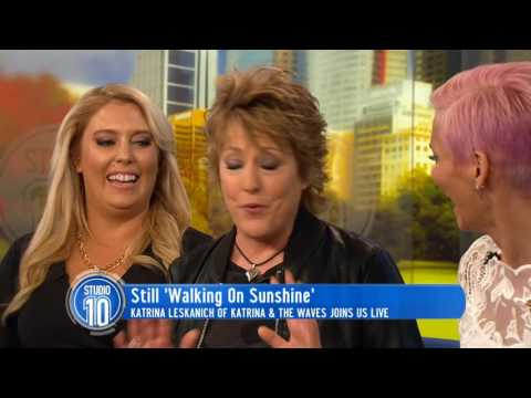 Katrina Leskanich Is Still 'Walking On Sunshine