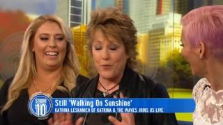 Katrina Leskanich Is Still 'Walking On Sunshine