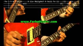 Purple Haze - Guitar Cover - Jimi Hendrix - Tablatures - TAB www.FarhatGuitar.com