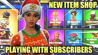 Fortnite Live | GIFTING Giveaway *NEW ITEM SHOP* | (Fortnite Battle Royale) Giveaway