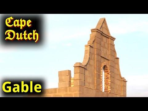 Cape Dutch Gables - Small House