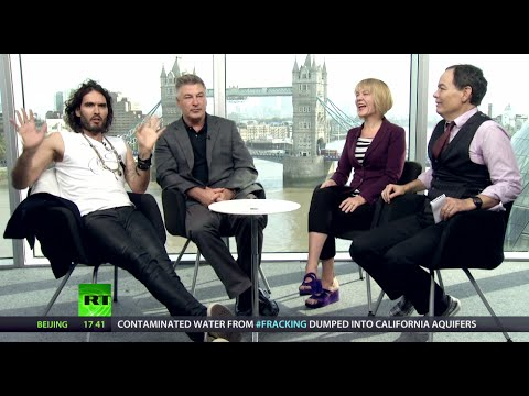 Keiser Report: Meeting of Megaminds (E665, ft.Russell Brand & Alec Baldwin)