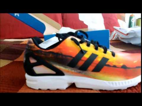 Adidas Zx Flux Sunset Pack