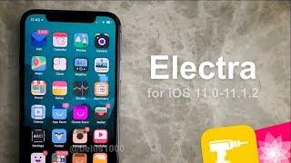 Semi Jailbreak iOS 11.0 - 11.1.2 With Electra 11.2 Beta IPA Install with Cydia Impactor 0.9.43