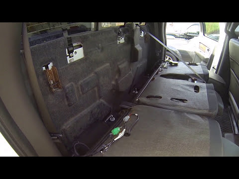 How To Remove The Rear Seat From a 2009 - 2014 Ford F150 Crew Cab