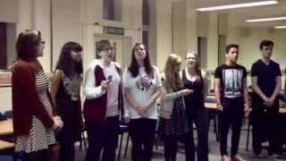 DMU Acapella cover of Radioactive by Imagine Dragons