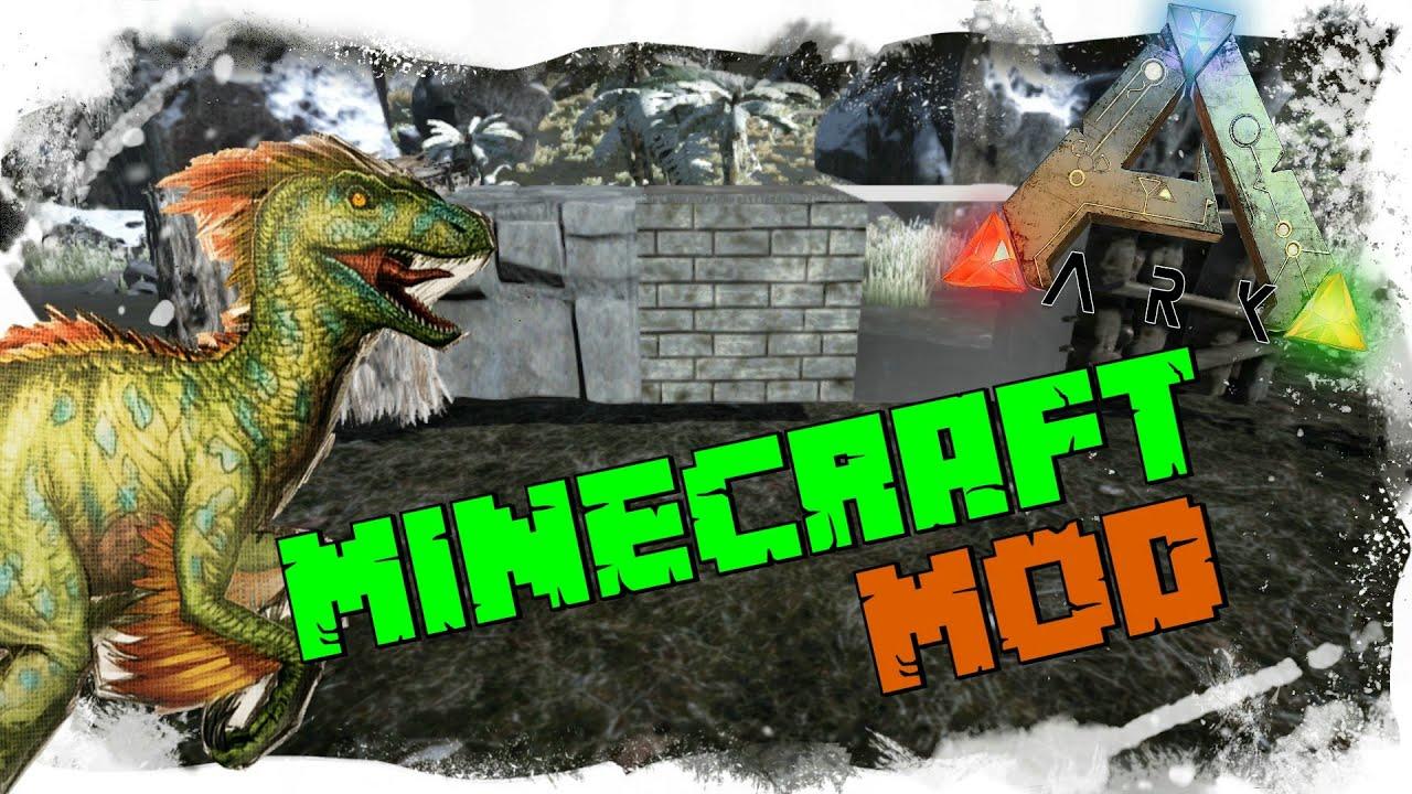 ARK SURVIVAL EVOLVED MINECRAFT MOD GERMANDEUTSCH YouTube - Minecraft dinotopia spielen