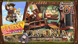 Deponia [PC HD Gameplay]: #01 - Let