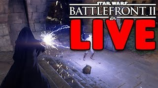 OMG WHAT HAPPENED TO BOBA FETT!  STAR WARS BATTLEFRONT II LIVE
