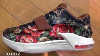 Nike KD 7 Floral EXT PRM Sneaker With @DjDelz #HotOrNot