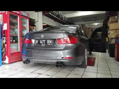 BMW F30 335i w/ ARMYTRIX (M3 Quad-Tips Conversion) Valvetronic Exhaust