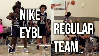 NIKE EYBL Team VS REGULAR AAU Team, Final 7 Minutes
