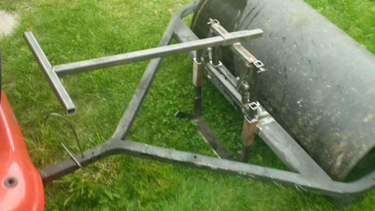 Diy Sod Diy Sod Cutter For Lawn Tractor Youtube