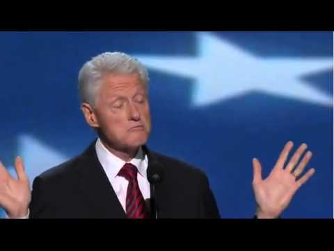 BILL CLINTON DNC 2012 MAGNIFICENT SPEECH