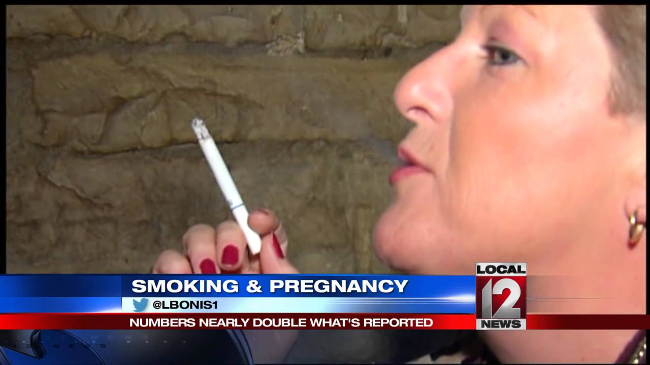 study finds number of women smoking while pregnant double what's