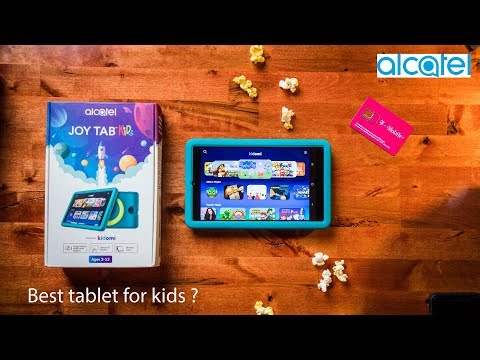 Best Tablet For Kids?!? The Alcatel Joy Tab Kids Android Tablet