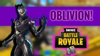 Fortnite Mobile: FIRST GAMEPLAY WITH THE *NEW* OBLIVION SKIN!!