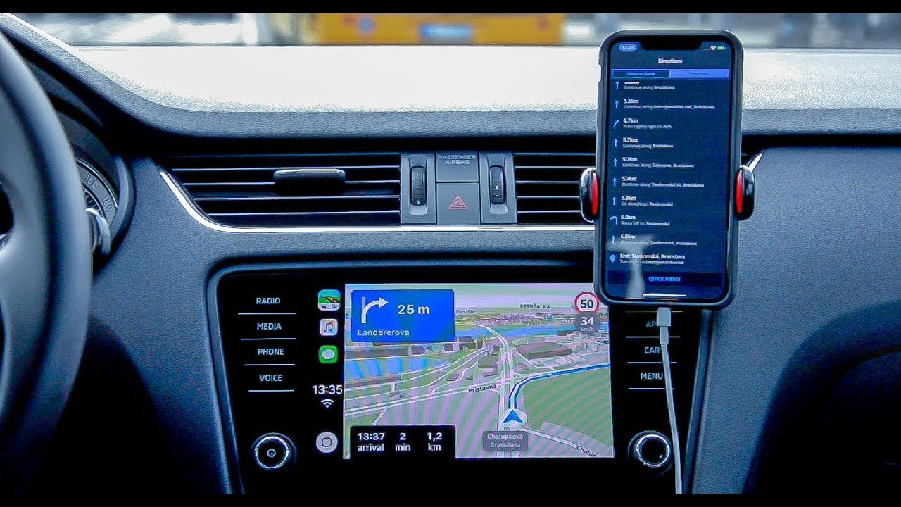 An improved version of Premium for CarPlay is here - Sygic