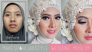 Download Video Tutorial Makeup dan Hijabstyle Akad Nikah | Wedding Muslim Modern by IniVindy MP3 3GP MP4