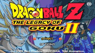 Game Boy Advance Longplay [009] Dragon Ball Z: The Legacy of Goku II
