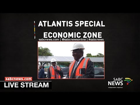 President Ramaphosa launches the Atlantis Special Economic Zone